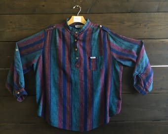 Vintage 80's Carribou Button Down