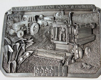 Case Tractor Belt Buckle A Fresh Team For Todays Farmer USA
