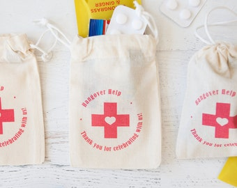 Hangover Help - Fairtrade Cotton Pouch