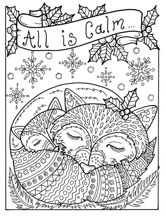 5 Seiten von Weihnachten Färbung Seiten Spaß und wunderliche