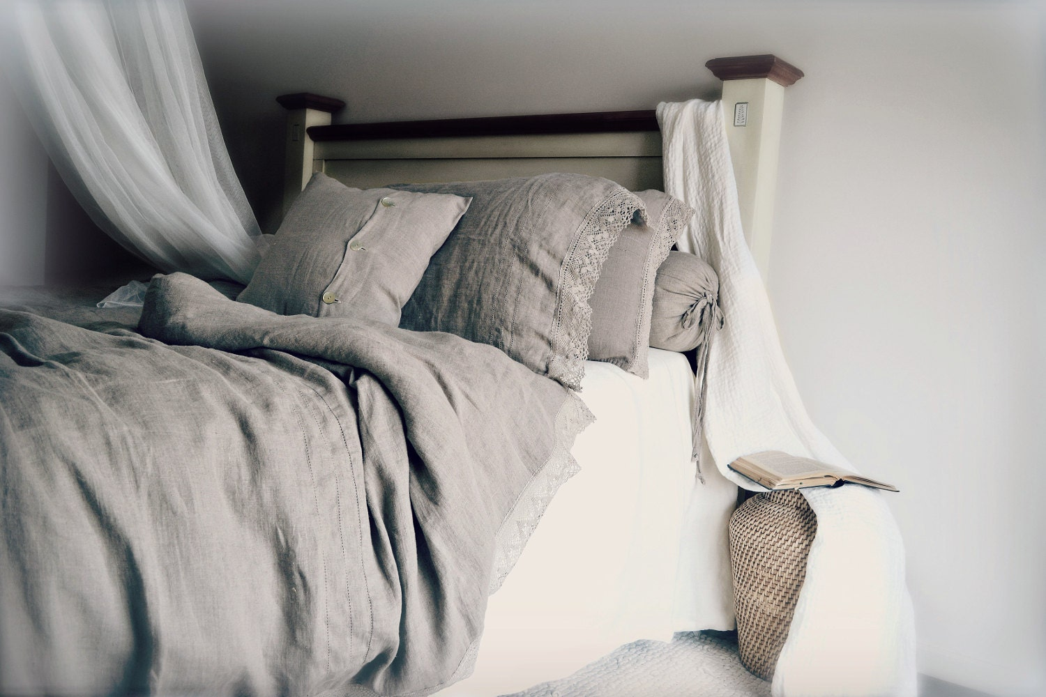 pure genuine european linen bedding provincial living - 🔎zoom