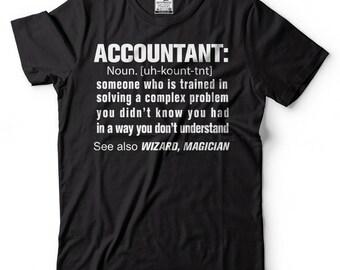 Accountant T-Shirt Accounting CPA Funny Profession Tee Shirt