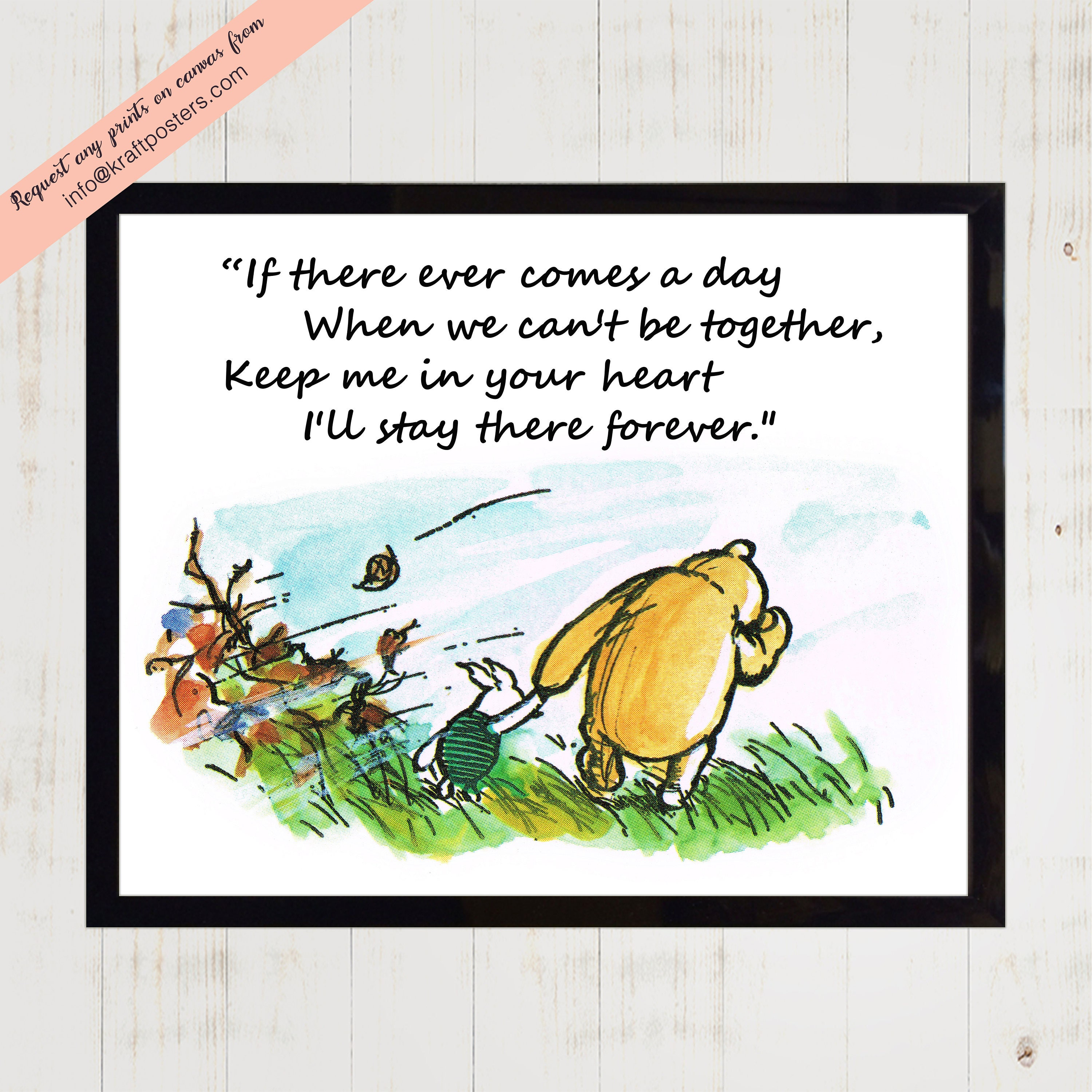 Winnie The Pooh Quotes About Life Winnie The Pooh Quotes 'if There Ever Comes A Day When We