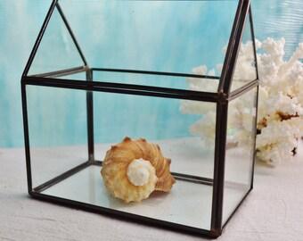 House Terrarium ~ Geometric Terrariums ~ Glass Terrarium ONLY ~ DIY ~ Terrarium ~ Build your own terrarium ~ 1 pc ~ Terrarium Only