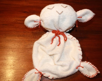 Stuffed animal, vegan, lovey, made from 100% organic cotton, baby organic toy, various sizes available