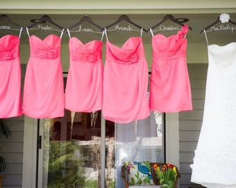 RESERVED ORDER Bridesmaid Wedding Dress Hangers