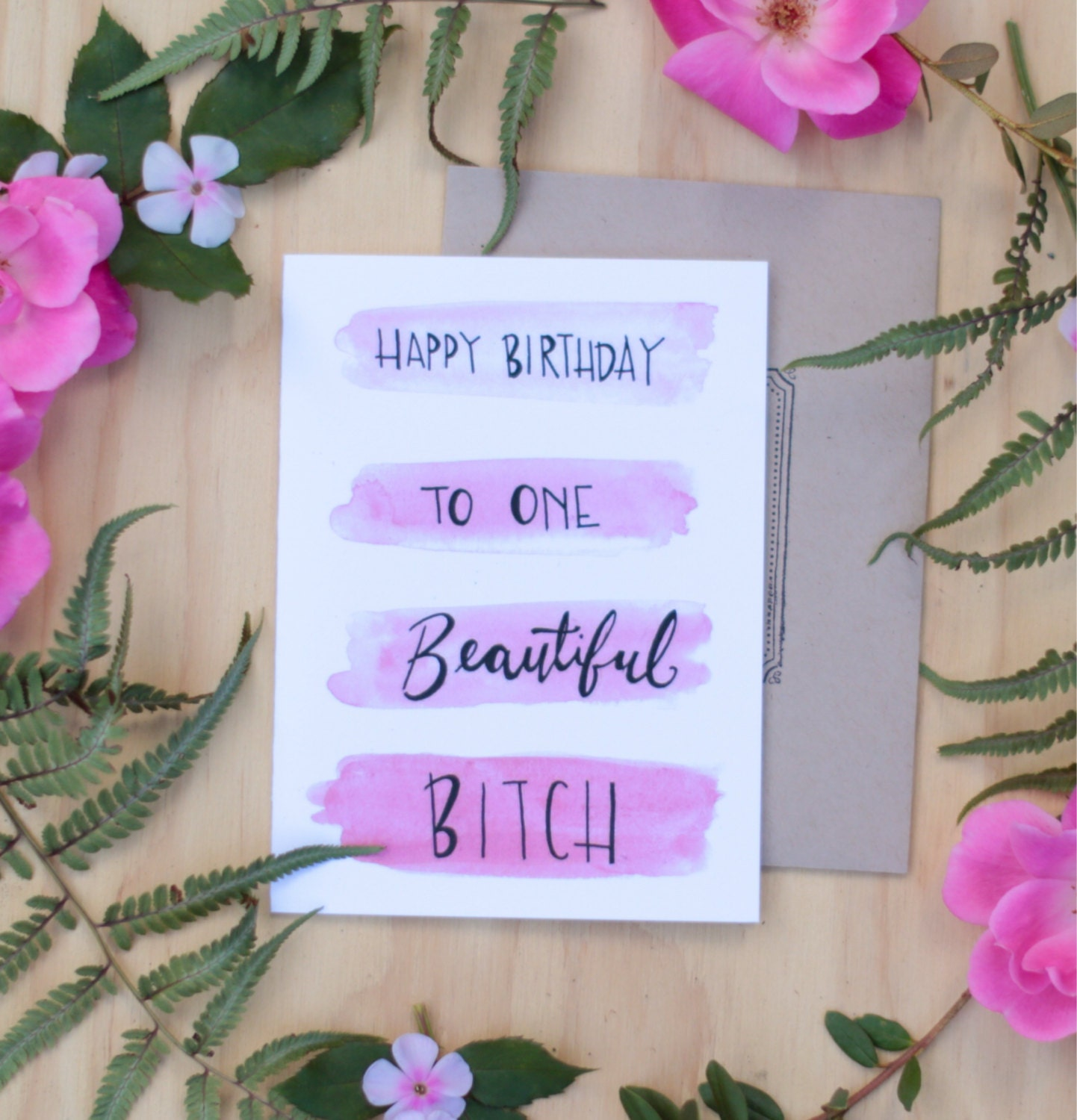 Friend birthday card happy birthday to one beautiful zoom bookmarktalkfo Images