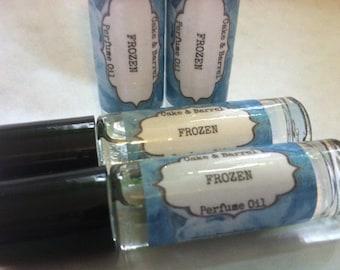 Frozen Perfume Oil. 10 ml Roll On Glass Bottle. Lush Type.