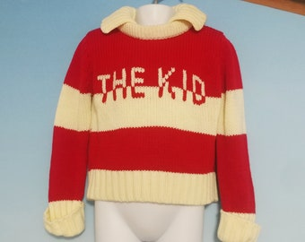 The Kid Cable Knit Sweater