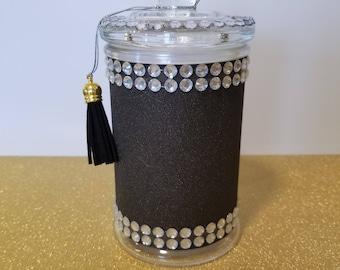 Discreet Glass Stash Jar
