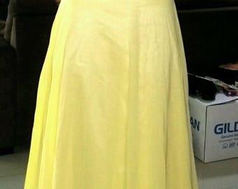 Beautiful Lemon Prom/ Bridesmaid dress