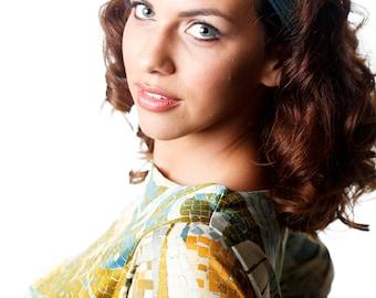 Silk Headbands For Women, Dressy Headbands, Flapper Headpiece, Great Gatsby Headpiece
