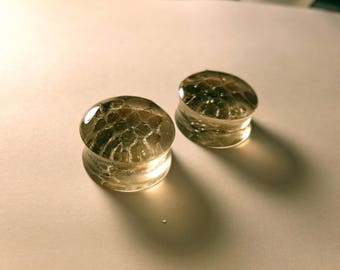 Real Snakeskin Plugs - LIMITED!!