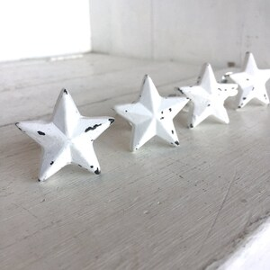 Star Decor, Star Decorations, Star Decoration, White Stars, Decorative  Knobs, Drawer
