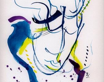 figure drawing, figure fine art, figure print, figure poster, modern figure, abstract figure, contemporary art, figure artwork