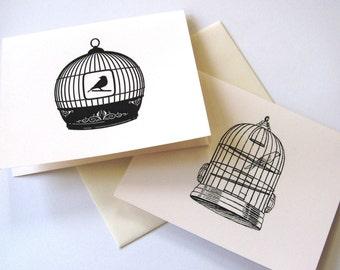 Bird Cage Notecards