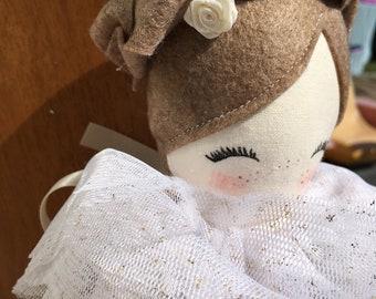 Cloth doll, handmade doll, girl gift, Doll