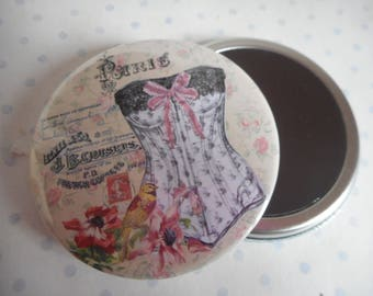 "Large magnet 56 mm ""JB brace"" white, pink, black, mother's day"