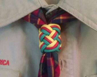 Webelos Woggle, neckerchief slide for Cub or Boy Scout Uniform.