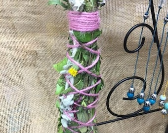 Herbal Sage Smudge Wands - Promotes positive energy