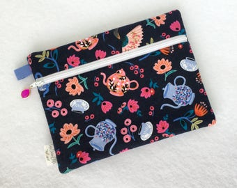 Rectangle Pouch Pencil Case // Tea Party by Rifle Paper Co.