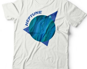 Kids Planet Neptune T-Shirt.Space Tee.Solar System.