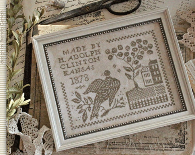 Pattern: A Weavers Work Cross Stitch - Country Stitches - With Thy Needle and Thread - Brenda Gervais