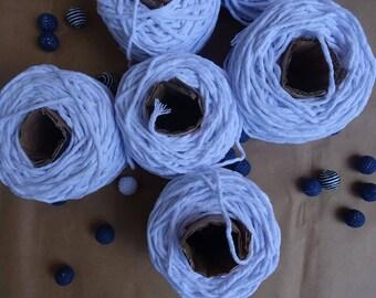 White Macrame cotton cord, macrame rope, macrame string, natural cotton cord, macrame cotton string, white 3mm macrame rope, macrame twine