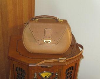 Etsy BDay Sale Hartmann Women's Brown Leather Messenger Cross Body Bag