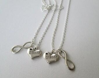 2 Sister, Infinity Best Friends Jewelry