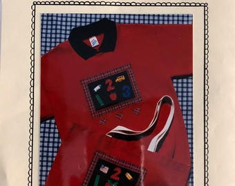 Chalkboard Applique Pattern and Buttons