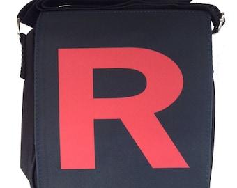 Team Rocket Pocket Monster Small Messenger Bag