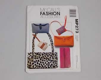 Handbag Sewing Pattern, McCall's MP273 M4533, Purse, Bag, Mother's Day Gift Idea
