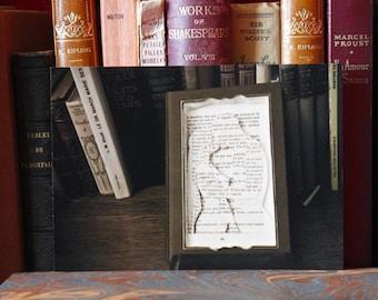 """Paper Sculpture fineart Postcard """"L'Amant"""""""