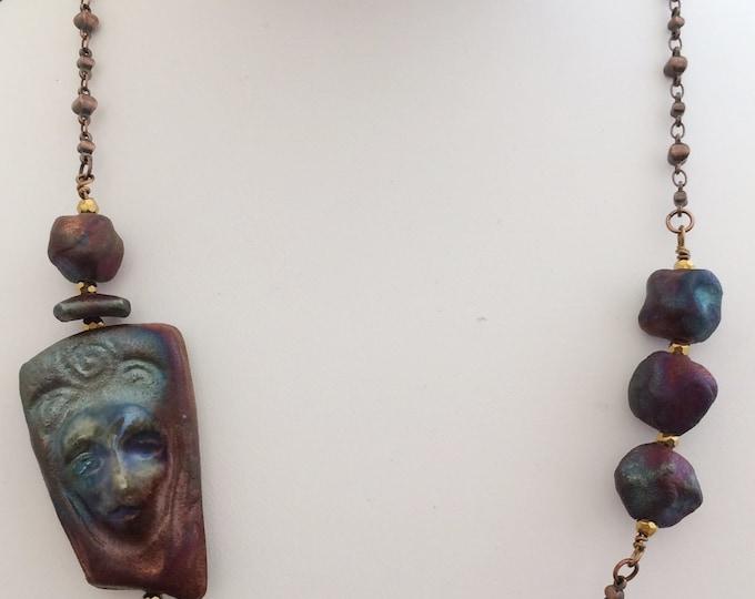 Raku and Antiqued Copper