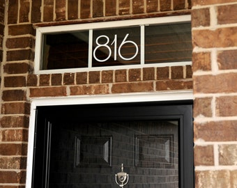 Address Numbers (Large) - Vinyl Decal