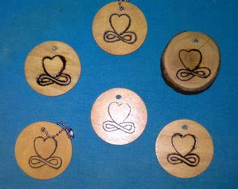 Infinity Heart Keychains