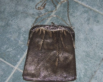 Art Nouveau Purse Art Deco Disco 1970s Handbag