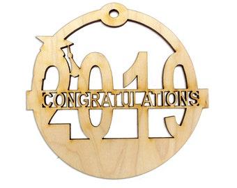 Personalized 2019 Graduation Christmas Ornaments - High School Graduation Ornaments - Personalized College Graduation Ornaments