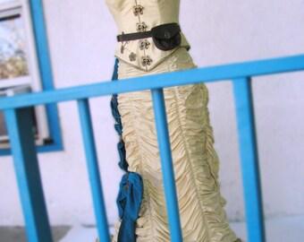 Victorian Natural Form Wedding Dresses----Custom Made