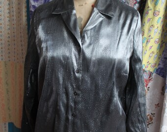 Silver sparkly blouse REF 472