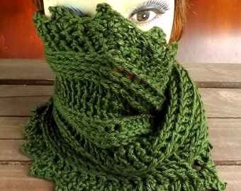 Crochet Pattern,  Crochet Scarf Pattern,  Crochet Cowl Pattern,  PDF Pattern,  Lauren Mobius Scarf Pattern,  Infinity Scarf Pattern