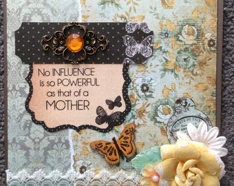 MOTHER - Handcrafted Card