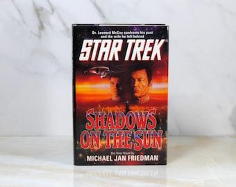Vintage Star Trek, Shadows On The Sun, The Original Series,  Hardback, 1993, Captain Kirk, Dr Leonard McCoy, Ssan, Starfleet, Enterprise