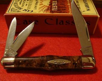 Case Classic Burlwood Whittler 73083