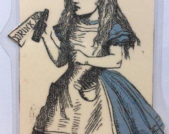 Alice in Wonderland Drink Me III Bookmark