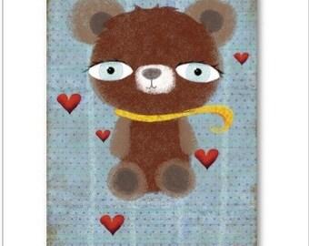 Teddy Bear business cards