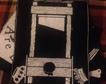 Guillotine patch