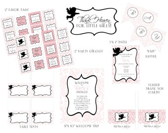 """PRINTABLE (FULL COLLECTION) - """"Thank Heaven for Little Girls"""" Collection"""