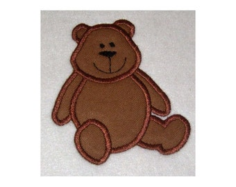 Instant Download Teddy Bear Embroidery Machine Applique Design 681